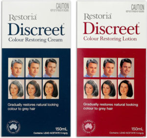 restoria discreet hair colour-color-restore-grey-treatment-lady-ladies-men-durban-johannesburg-capetown-cape-town-botswana-range-pack-shot